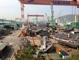 אחת המספנות הגדולות בעולם באי ג'וג'ו, טיול מאורגן לקוריאה