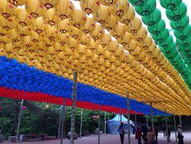 מתחם סקרגם המקושט, טיול מאורגן לקוריאה
