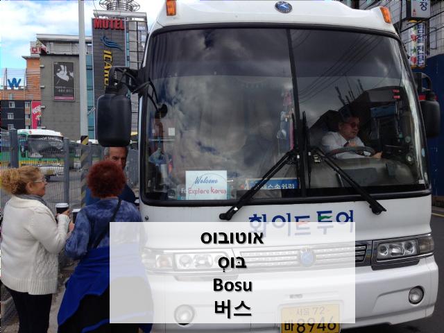 איך אומרים אוטובוס בקוראינית | טיול מאורגן לקוריאה | Explore Korea