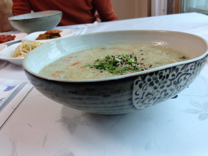 אוכל קוריאני, טיול מאורגן לקוריאה