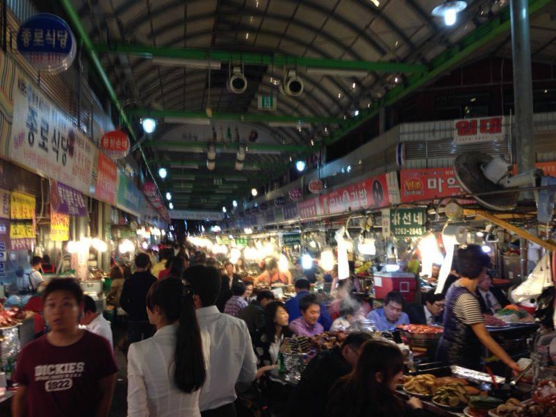 סיאול | שוק אוכל קוריאני | טיול מאורגן לקוריאה
