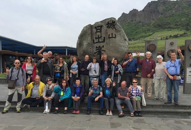 אודליה ואליעזר ליברמן, משה וקלרה, אלי ותמר | טיול מאורגן לקוריאה מאי 2017