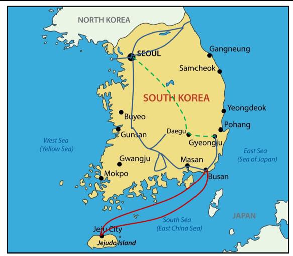 קוריאה הדרומית | טיולים מאורגנים לקוריאה | Explore Korea