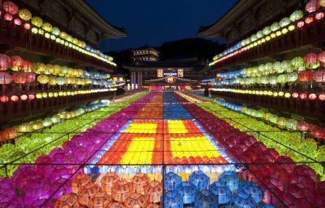 בעקבות מנורות הלוטוס – חגיגות יום ההולדת של בודהה בדרום קוריאה | איתמר סופר