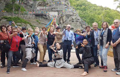 שרי ואורי לוי בשם קבוצת מאי | מסע עומק לקוריאה מאי 2019